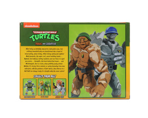 Teenage Mutant Ninja Turtles Neca Traag and Granitor Action Figure 2-Pack