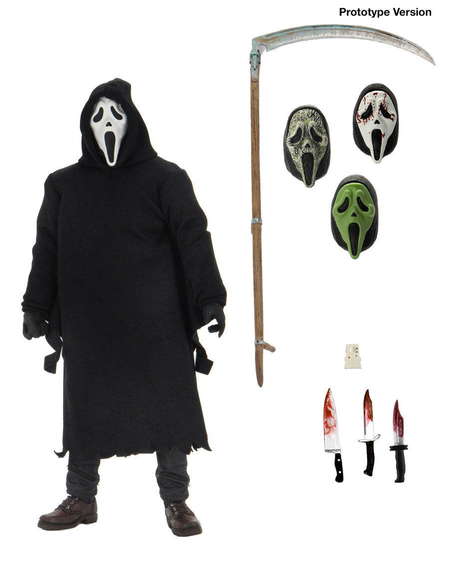Scream Neca Ultimate Ghostface 7 Inch Action Figure