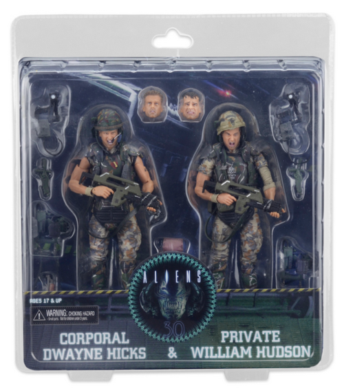 Aliens Neca 30th Anniversary Colonial Marines Hicks & Hudson Action Figure 2-Pack - Action Figure Warehouse Australia | Comic Collectables
