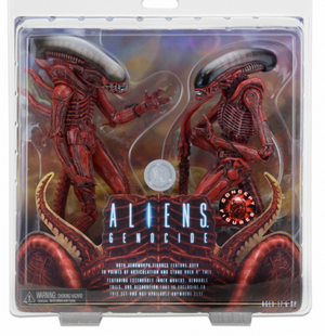 Aliens Neca Genocide Big Chap & Dog Alien Action Figure 2 Pack - Action Figure Warehouse Australia | Comic Collectables
