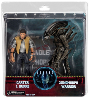 Aliens Neca Hadleys Hope Carter Burke & Alien Warrior Action Figure 2 Pack - Action Figure Warehouse Australia | Comic Collectables