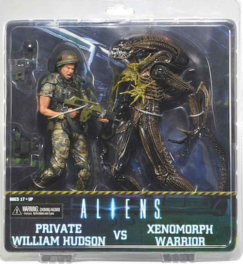 Aliens Neca Private William Hudson v Xenomorph Warrior Action Figure 2 Pack - Action Figure Warehouse Australia | Comic Collectables