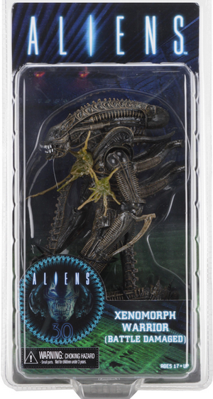 Aliens Neca Series 12 Brown Xenomorph Battle Damaged Warrior Alien Action Figure - Action Figure Warehouse Australia | Comic Collectables