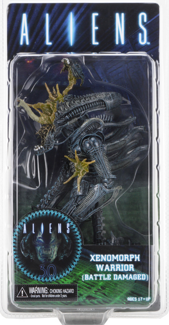 Aliens Neca Series 12 Blue Xenomorph Battle Damaged Warrior Alien Action Figure - Action Figure Warehouse Australia | Comic Collectables