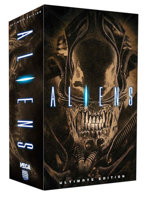 Neca Aliens Ultimate Aliens Brown Warrior