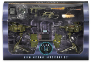 Aliens Neca USCM Arsenal Weapons Accessory Pack - Action Figure Warehouse Australia | Comic Collectables