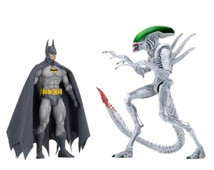 Aliens DC Neca Batman V Alien Action Figure 2-Pack Pre-Order - Action Figure Warehouse Australia | Comic Collectables