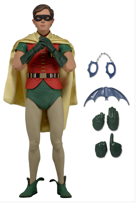 DC Neca Batman 1966 Robin Burt Ward 1:4 Scale Action Figure - Action Figure Warehouse Australia | Comic Collectables