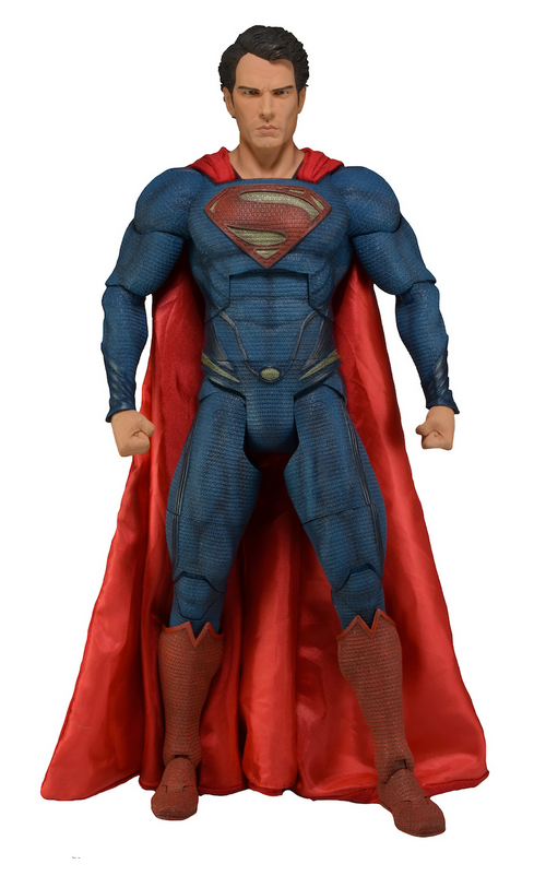 DC Neca Superman Man Of Steel 1:4 Scale Action Figure - Action Figure Warehouse Australia | Comic Collectables