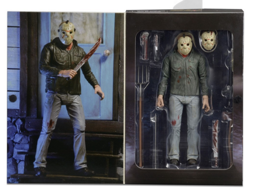 Friday The 13th Neca Part 3 3D Ultimate Jason Vorhees Action Figure