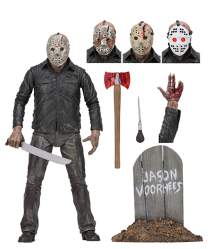 Friday The 13th Neca Part 5 Jason Vorhees Action Figure