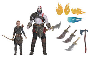 God Of War Neca Kratos & Atreus Action Figure 2-Pack Pre-order