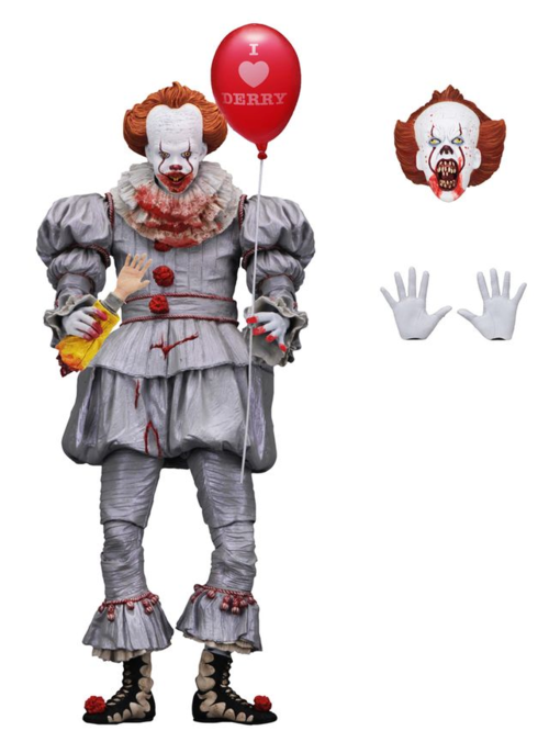 IT Neca Pennywise I Love Derry 2017 Action Figure