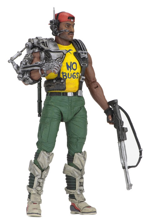 Aliens Neca Series 13 Space Marine Sgt Apone Action Figure