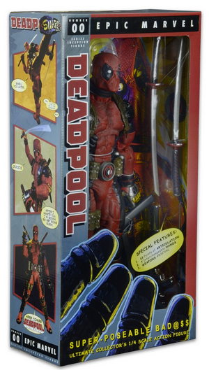 Marvel Neca Deadpool 1:4 Scale Action Figure