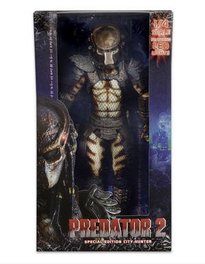 Predator Neca Predator 2 City Hunter 1:4 Scale Action Figure