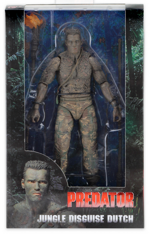 Predator Neca 30th Anniversary Jungle Disguise Dutch Action Figure