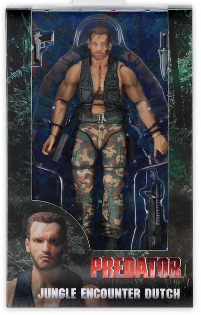 Predator Neca 30th Anniversary Jungle Encounter Dutch Action Figure