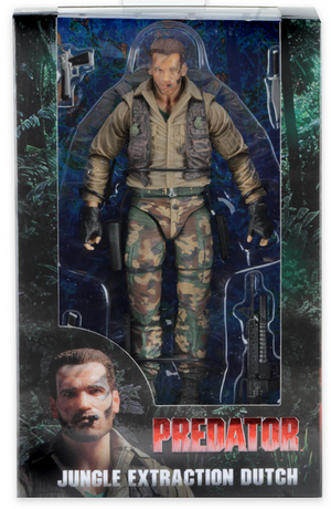 Predator Neca 30th Anniversary Jungle Extraction Dutch Action Figure