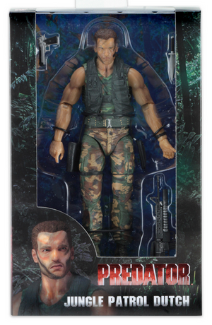 Predator Neca 30th Anniversary Jungle Patrol Dutch Action Figure