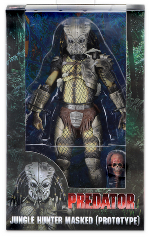 Predator Neca 30th Anniversary Jungle Hunter Masked Prototype Action Figure