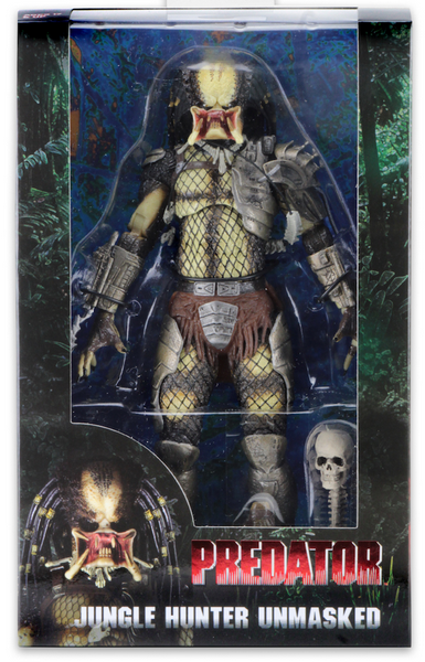 Predator Neca 30th Anniversary Jungle Hunter Unmasked Action Figure