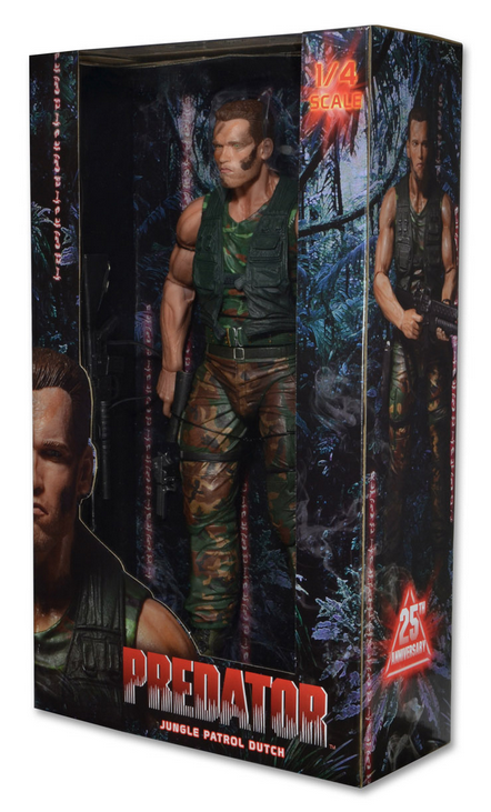 Predator Neca Dutch Shaefer 1:4 Scale Action Figure