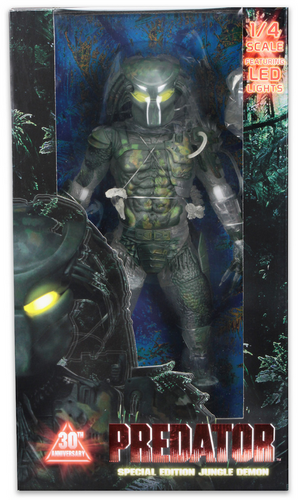 Predator Neca 30th Anniversary Jungle Demon 1:4 Scale Action Figure