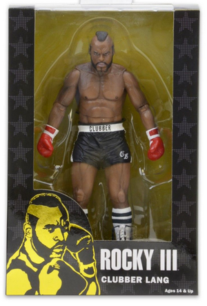 Rocky Neca Rocky III Clubber Lang w/ Black Shorts Action Figure