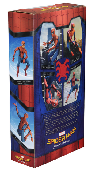 Marvel Neca Spider-Man Homecoming 1:4 Scale Action Figure