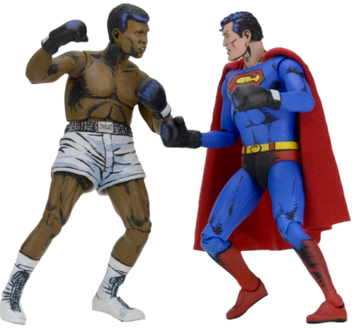 DC Neca Superman v Muhammad Ali Action Figure 2-Pack - Action Figure Warehouse Australia | Comic Collectables