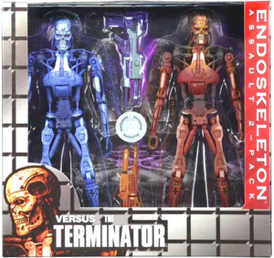 Terminator Neca Endoskeleton Assault Action Figure 2-Pack