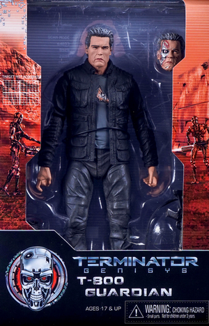 Terminator Neca Genisys T-800 Guardian Pops Action Figure