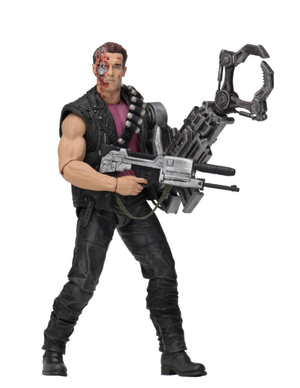 Terminator Neca T2 T-800 Power Arm Kenner Tribute Action Figure