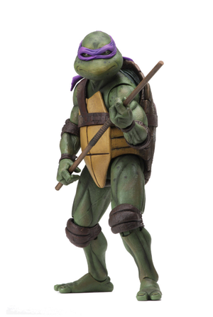 Teenage Mutant Ninja Turtles Neca Donatello 7 Inch Action Figure Pre-Order