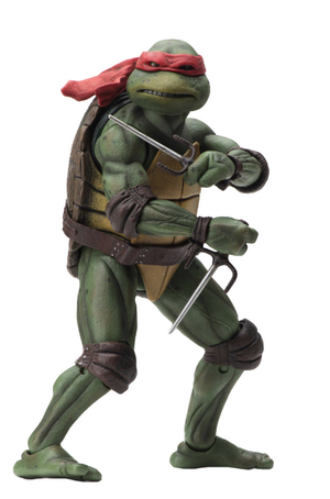 Teenage Mutant Ninja Turtles Neca Raphael 7 Inch Action Figure Pre-Order