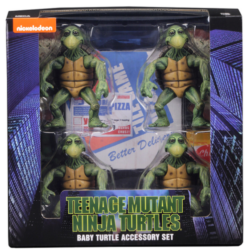 Teenage Mutant Ninja Tutrles Neca  Baby Turtles Pack 1:4 Scale Action Figure