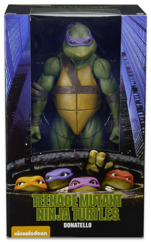 Teenage Mutant Ninja Turtles Neca Donatello 1:4 Scale Action Figure Pre-Order