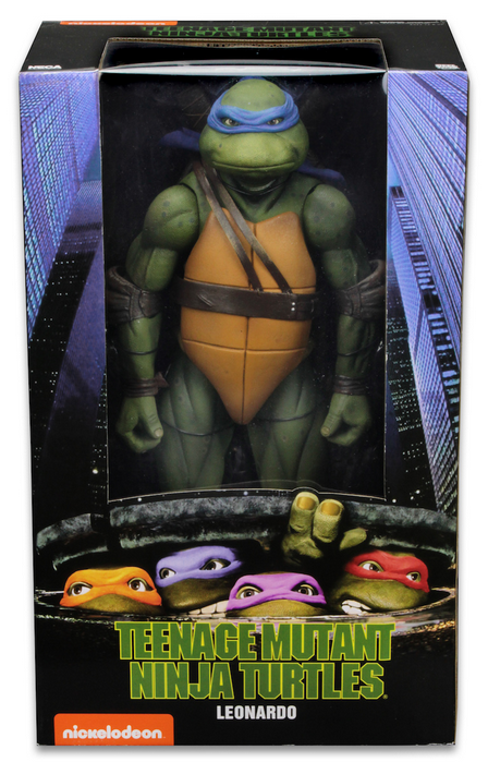 Teenage Mutant Ninja Turtles Neca Leonardo 1:4 Scale Action Figure Pre-Order