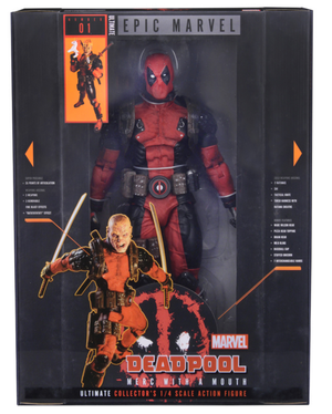 Marvel Neca Ultimate Deadpool 1:4 Scale Action Figure