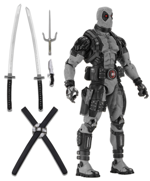 Marvel Neca X-Force Deadpool 1:4 Scale Action Figure