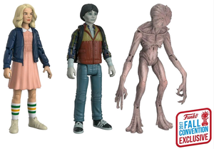 Stranger Things Nycc 17 Exclusive Funko 3 Pack Eleven Will Demogorgon 3.75 Inch Figures