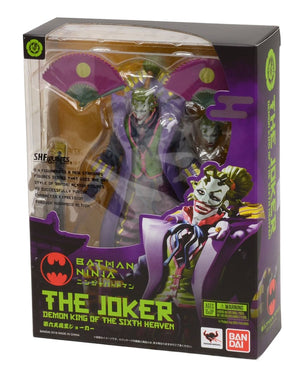DC Bandai SH Figuarts Ninja Batman Joker Action Figure