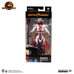 Mortal Kombat McFarlane Raiden White Hot Fury 7 Inch Action Figure