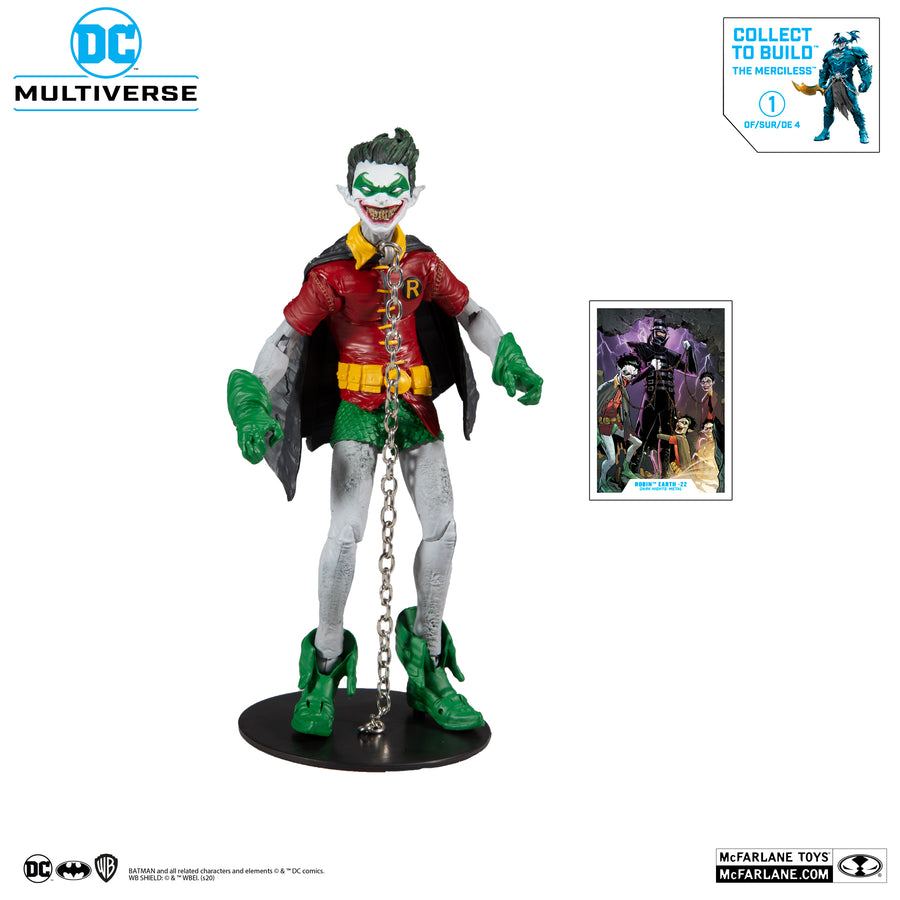 DC Multiverse McFarlane Merciless Series Robin Dark Nights Metal Action Figure Pre-Order