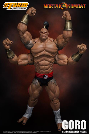 Mortal Kombat Storm Collectibles Goro 1:12 Scale Action Figure Pre-Order