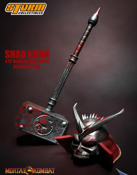 Mortal Kombat Storm Collectibles Shao Khan Bloody Special Edition 1:12 Scale Action Figure