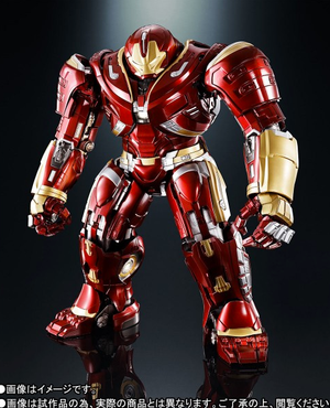 Marvel Chogokin X SH Figuarts Infinity War Hulkbuster Mark 2.0 Action Figure Pre-Order