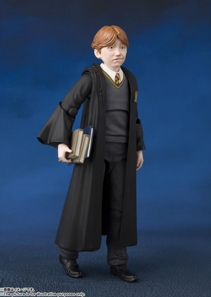 Bandai Sh Figuarts Ron Weasley Action Figure Pre-Order - Action Figure Warehouse Australia | Comic Collectables