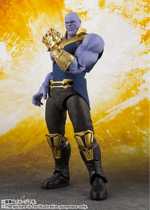 Marvel Bandai SH Figuarts Infinity War Thanos Action Figure